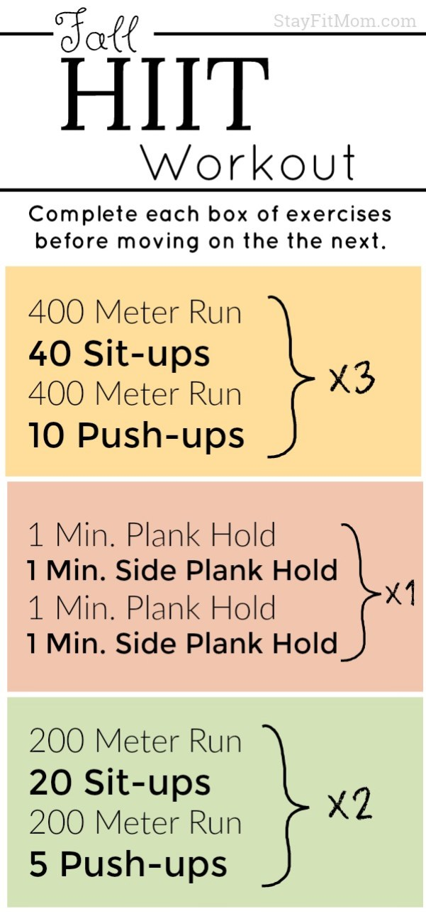 I love these high intensity home workouts from Stay Fit Mom!