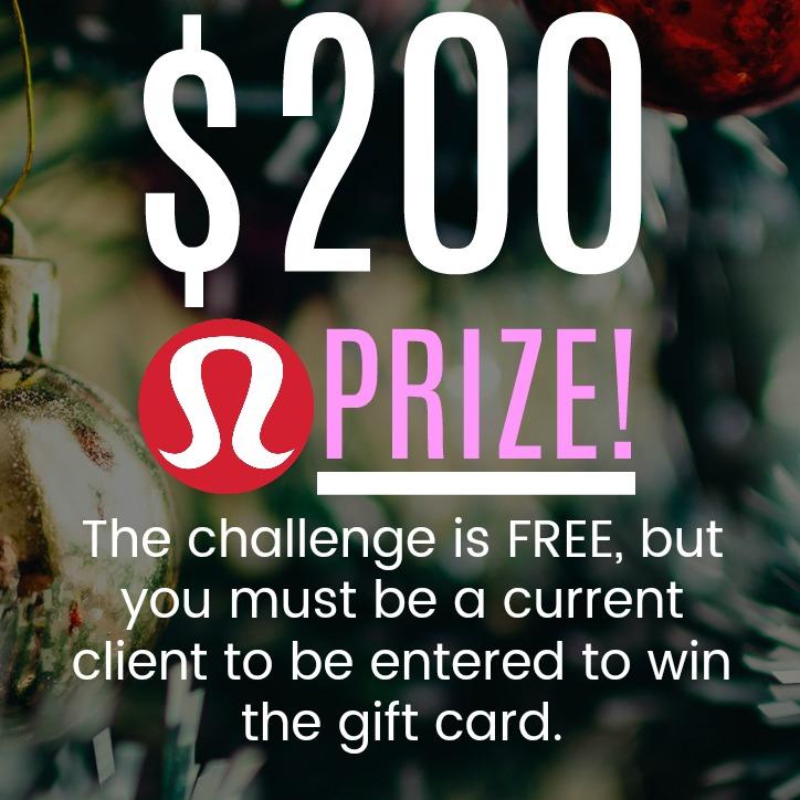 Free macro nutrition challenge