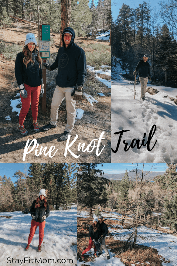 Big Bear Lake winter getaway