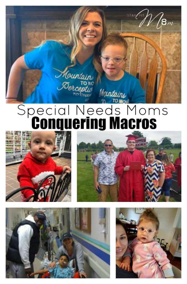Special needs moms conquering macros with Stay Fit Mom.