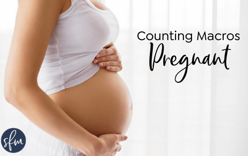 Things to keep in mind when macro counting #pregnant