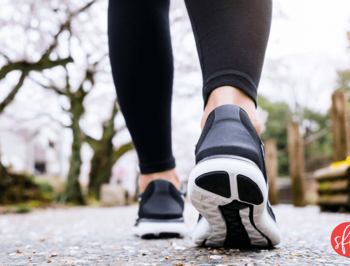 Why walking is great cardio and so good for your health. #stayfitmom #cardio #walking #steps