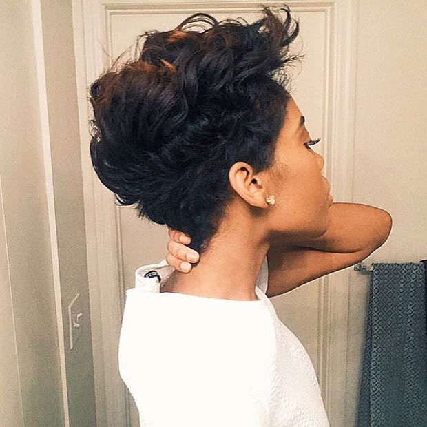 Faux Hawk Hairstyle