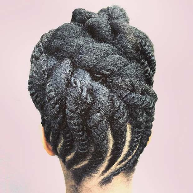 21 Gorgeous Flat Twist Hairstyles Page 2 Of 2 StayGlam
