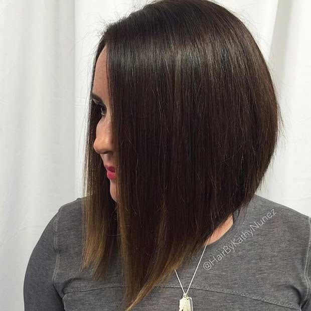 41 Best Inverted Bob Hairstyles StayGlam Page 4