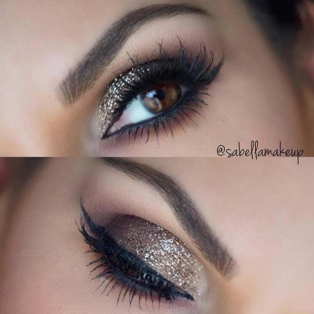 Wedding Makeup Look for Brown Eyes
