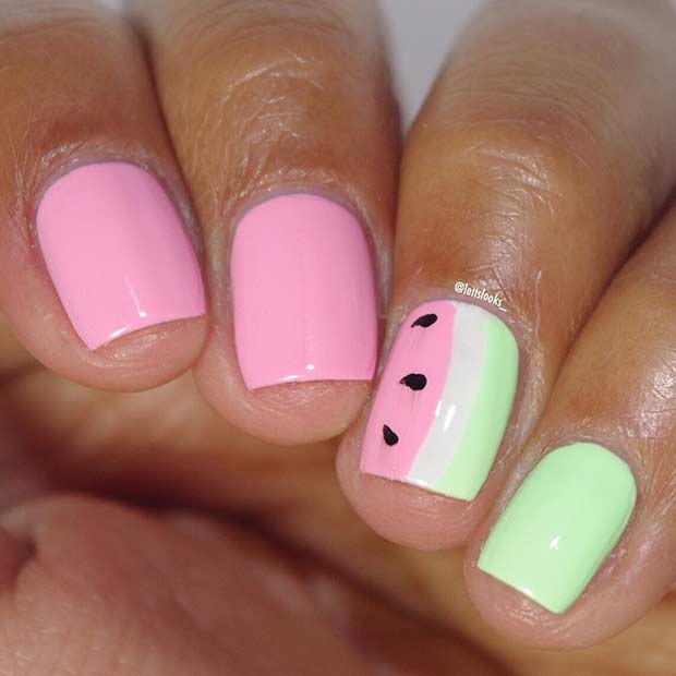 Cute Summer Nail Art Most Beautiful 25 Designs