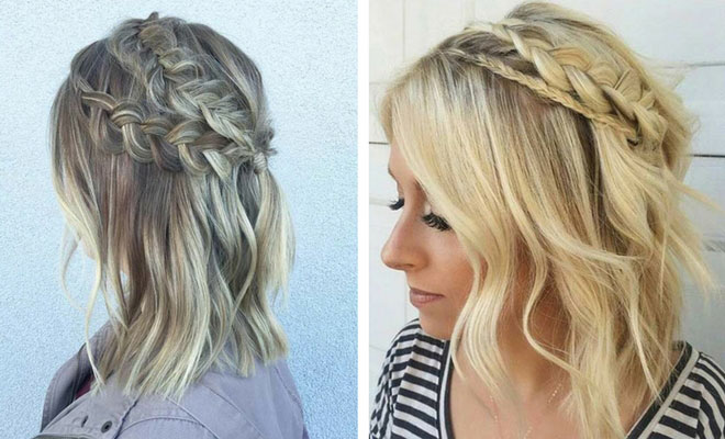 17 Chic Braided Hairstyles For Medium Length Hair Page 2