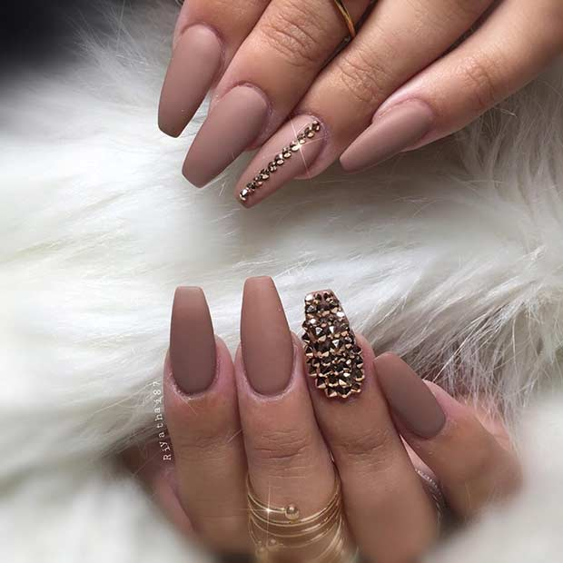 25 Cool Matte Nail Designs to Copy in 2017 - crazyforus
