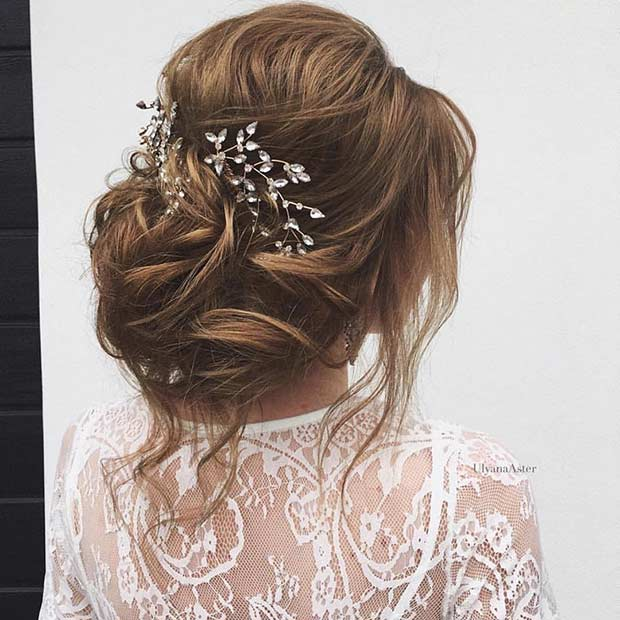 23 Romantic Wedding Hairstyles  for Long Hair  Page 2 of 2