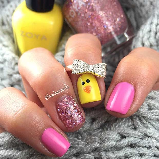11 More Easy And Simple Easter Nail Art Designs Crazyforus