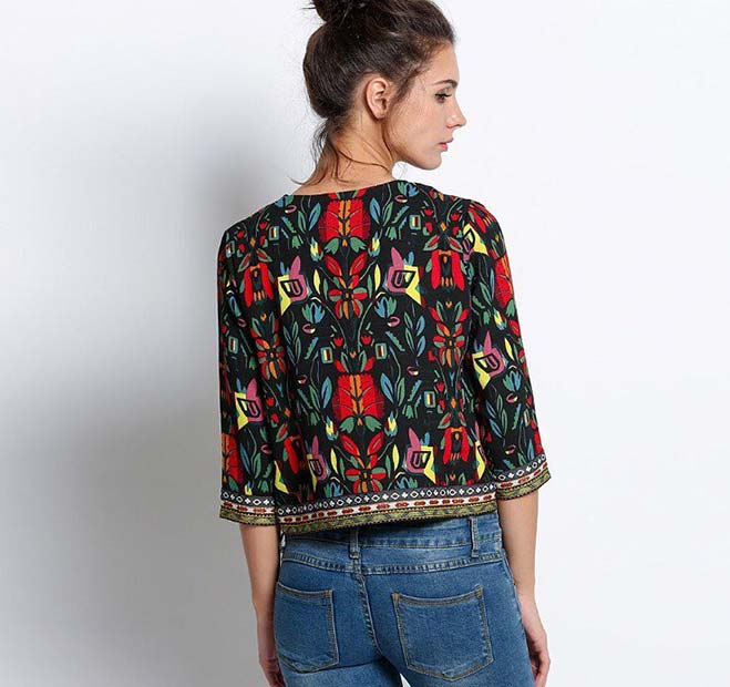 Bold Embroidered Jacket