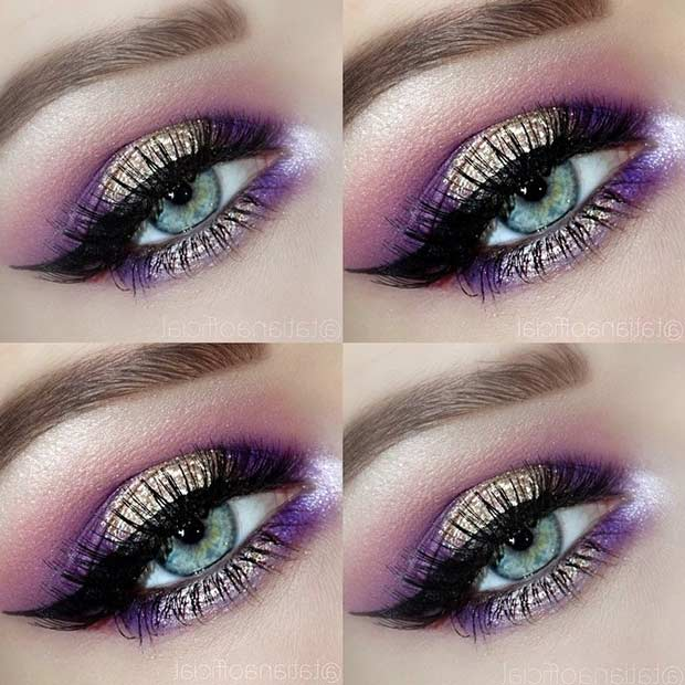 Purple Summer Smokey Eye