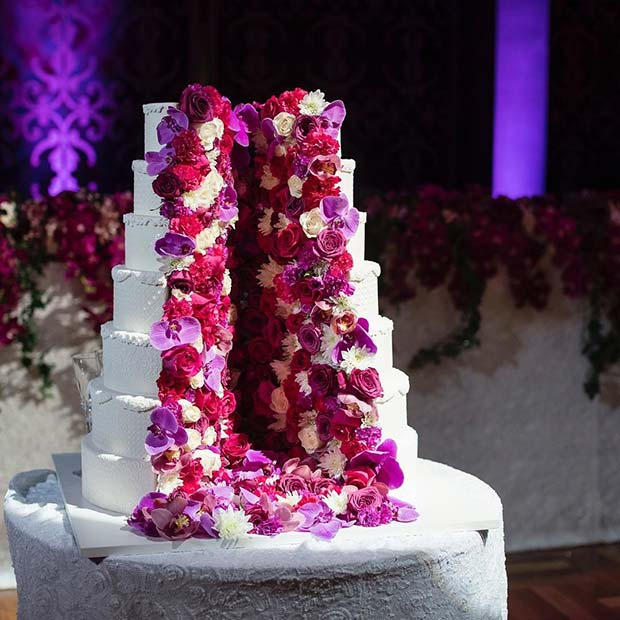 10 Sweet And Stunning Summer Wedding Cakes Crazyforus