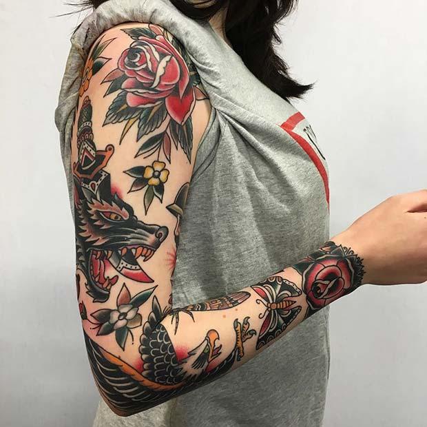 12 Bad-Ass Tattoo Ideas For Women