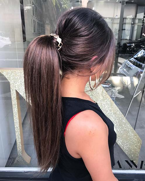 Accessorized Ponytail