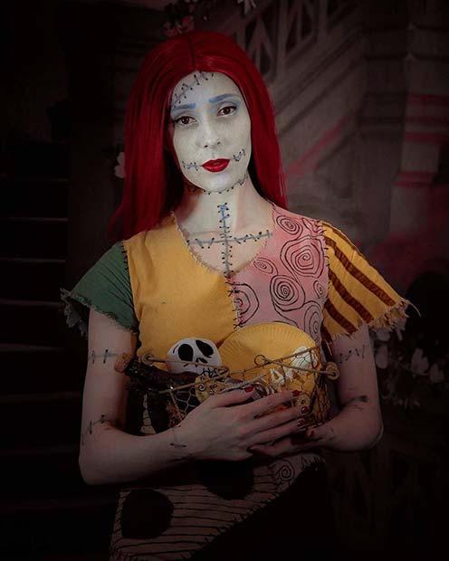 Nightmare Before Christmas Sally Costume