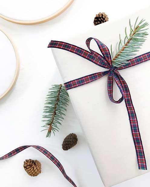 Tartan Gift Wrap Ribbons