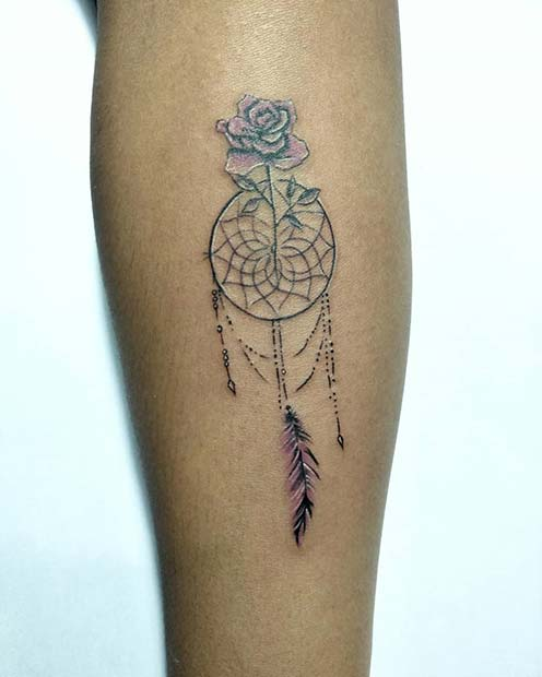 23 Amazing Dream Catcher Tattoo Ideas Crazyforus