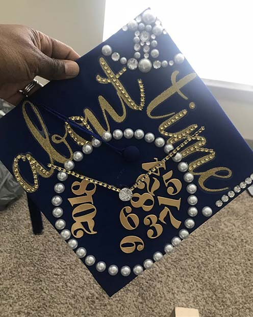 Personalized DIY Graduation Cap Idea