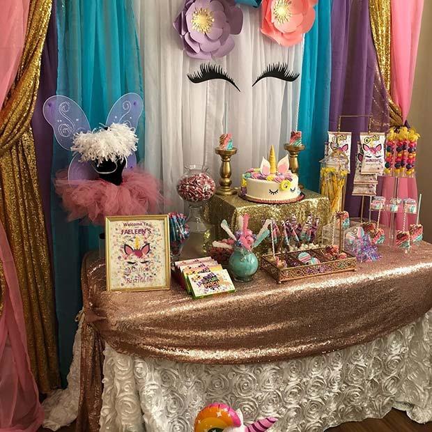 unicorn bridal shower idea