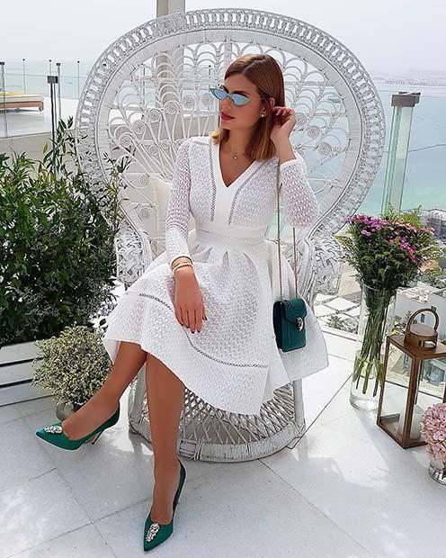 23 Stunning All-White Party Outfits - crazyforus