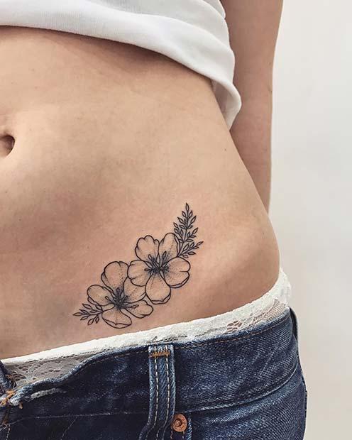 f0a43d8c7 13 Flower Tattoo Ideas for Every Women - crazyforus