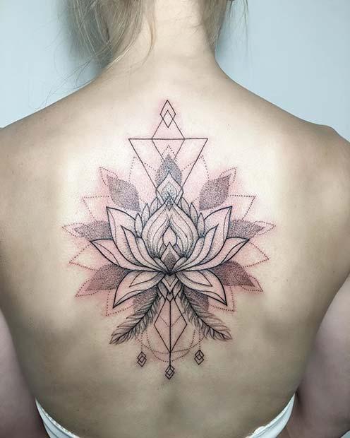 afb865a45 23 Cool Back Tattoos for Women - crazyforus