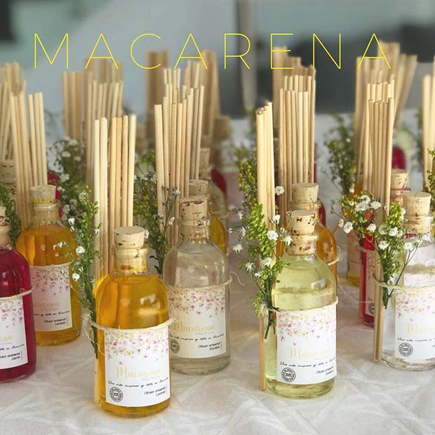 Reed Diffusers - Baby Shower Favor Idea