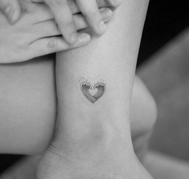 23 Super Cute Heart Tattoos For Girls Crazyforus