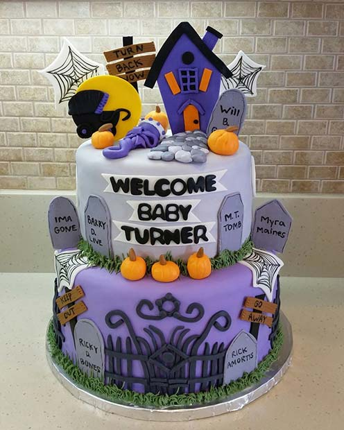 Halloween Themed Baby Shower Cookies.21 Halloween Baby Shower Ideas For Boys And Girls Crazyforus