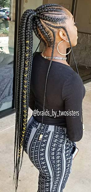 23 Best Braided Ponytail Hairstyles For 2018 Page 2 Of 2