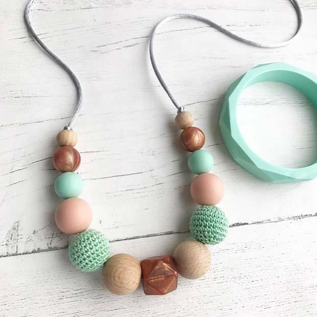 Teething Jewelry - Baby Shower Gift Idea