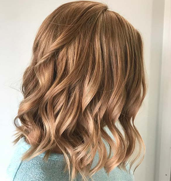 Beautiful Blonde Hair with Strawberry Hint