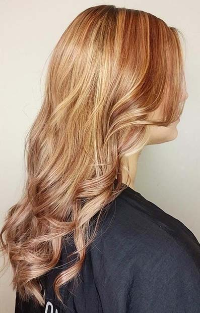 Subtle Strawberry Blonde