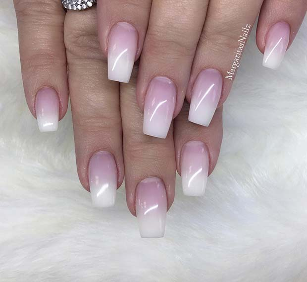 21 Of The Most Beautiful French Ombre Nails Crazyforus
