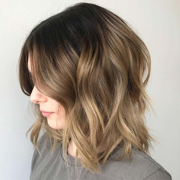 Chic Short Ombre Bob