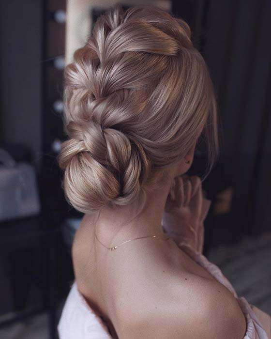 Braid into a Low Bun