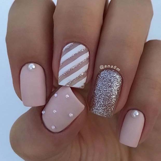 Elegant Matte Nail Design