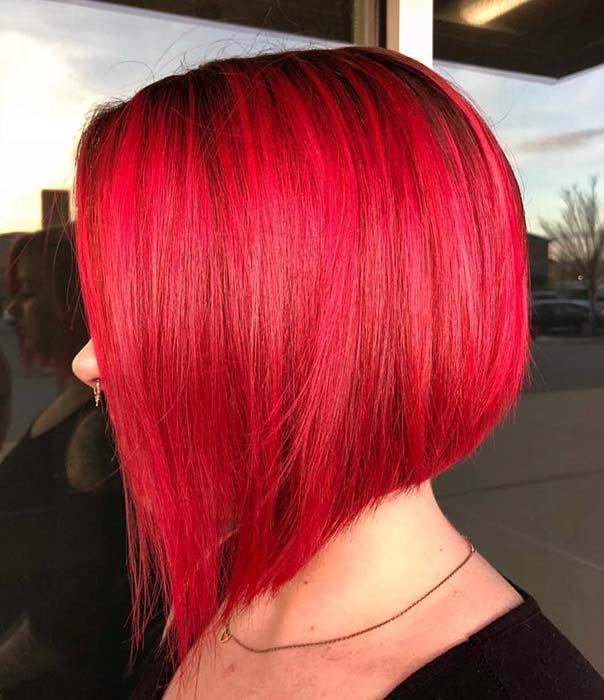 Short, Bright Red Hair Idea