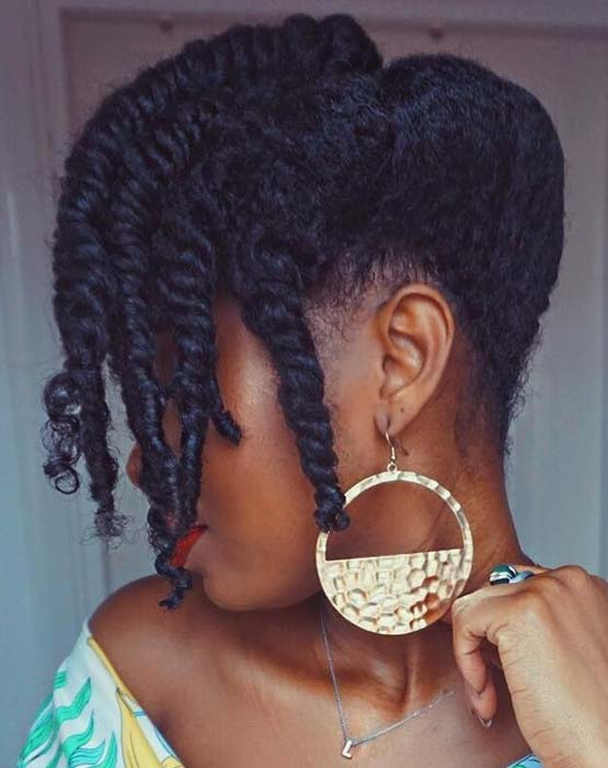 Trendy Updo Idea for All Lengths