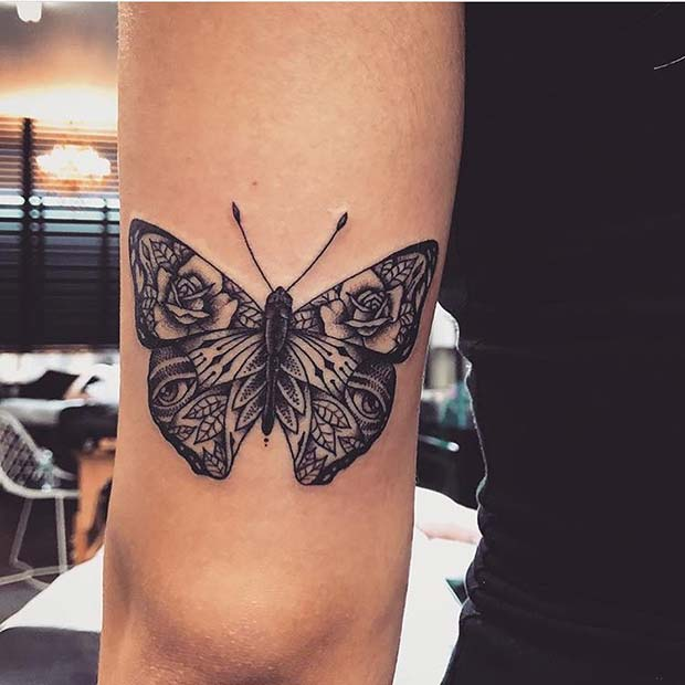 Butterfly Design with Unique Wings