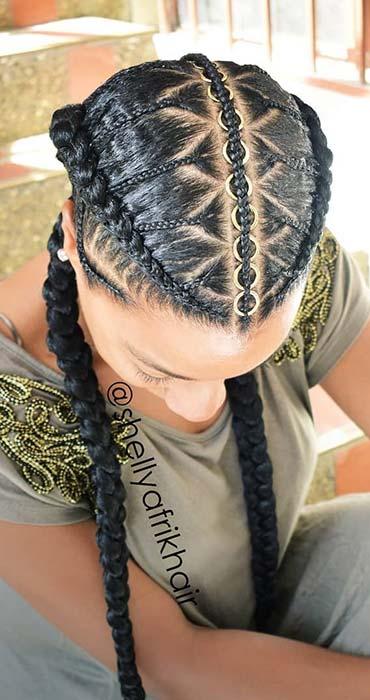 Two Braids Hairstyles Perfect for Hot Summer Days - crazyforus