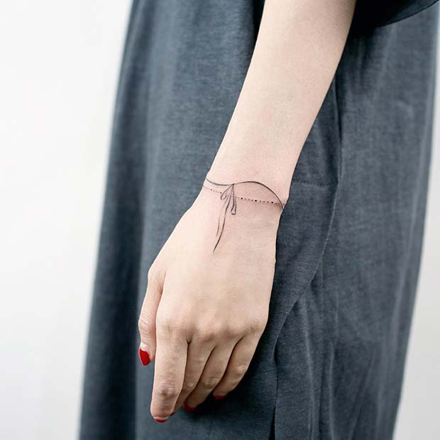 Double Bracelets Tattoo