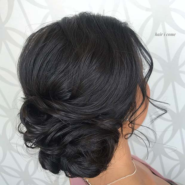 Pretty Quinceanera Updo