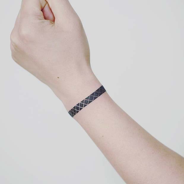 Stylish Geometric Bracelet Design