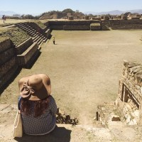 Monte Albán archaeological site: Monte Albán was once the economic center for Mesoamerica for 1,000 years. The site is breathtaking and definitely one to see in Mexico! | Stay gold Autumn