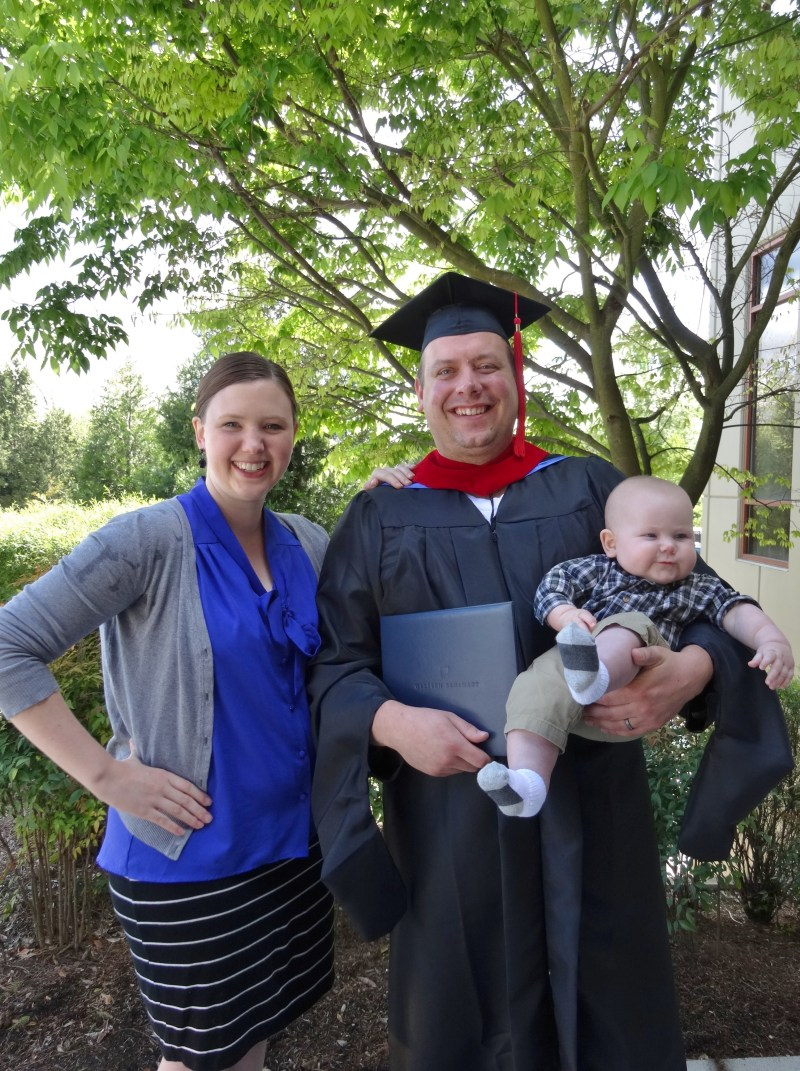 married during graduate school | guest post