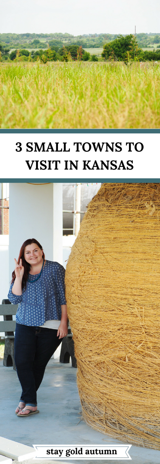 If you like kitschy and you like road trips, then you'll love this guide on 3 small towns to visit in Kansas. Definitely worth a visit on your next road trip! | Stay gold Autumn