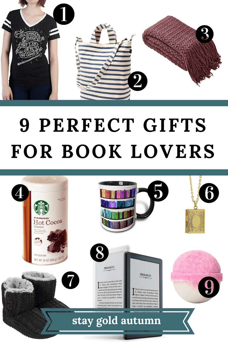 9 perfect gifts for book lovers